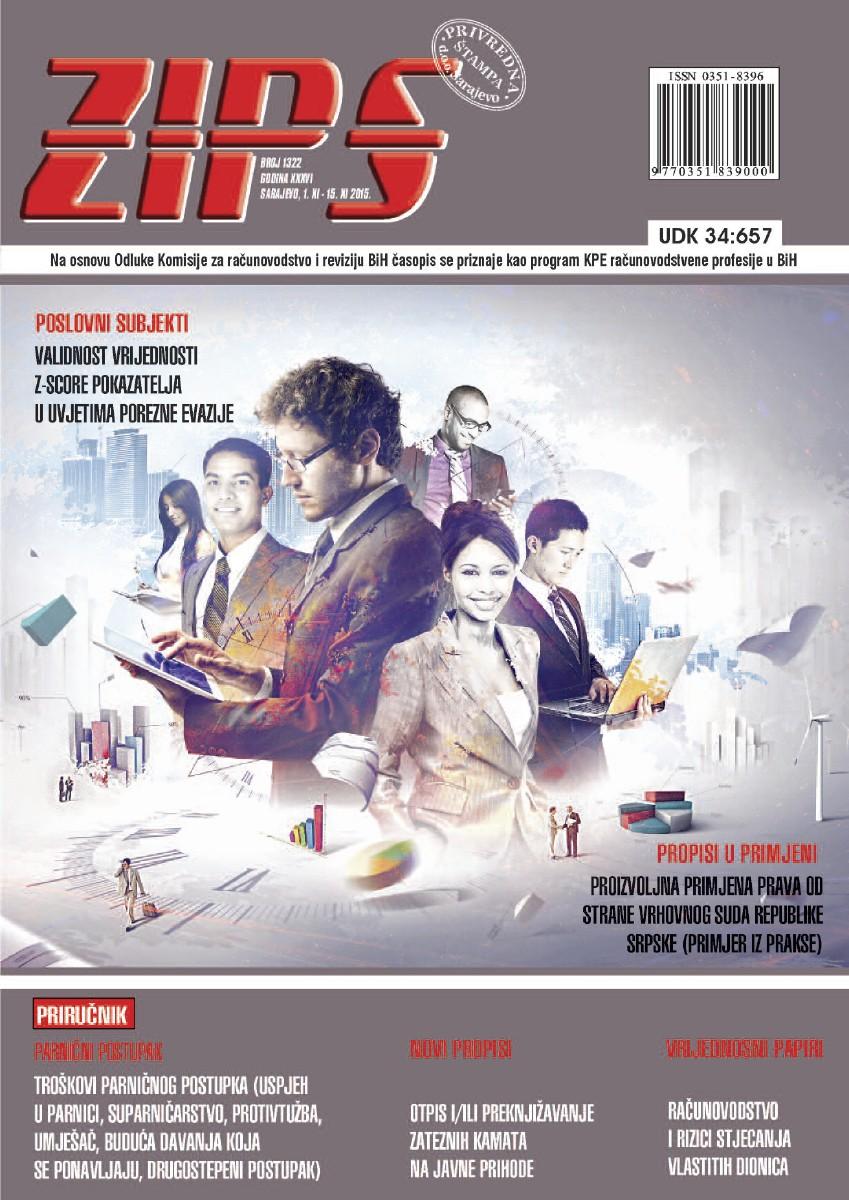 ZIPS Br. 1322