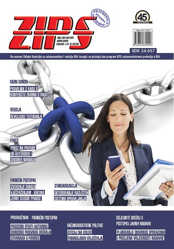 ZIPS Br. 1361 1362 1363