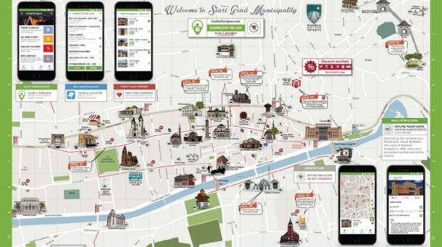 """Općina Stari Grad omogućila preuzimanje aplikacije """"Guide2Sarajevo"""""""