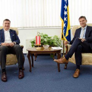 Novalić – Mandl: Austrija Je Drugi Najveći Strani Ulagač U BiH