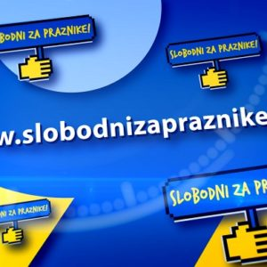 """Podrška Online Kampanji """"Slobodni Za Praznike!"""""""